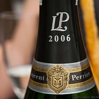 Гастроужин с шампанским Laurent-Perrier в ресторане Buoni Fratelli